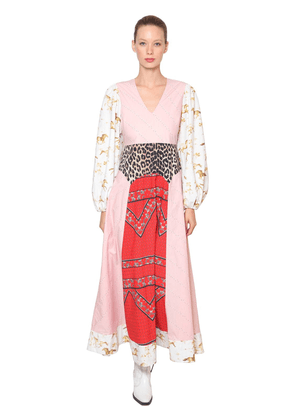 Sweeny Printed Cotton Poplin Maxi Dress