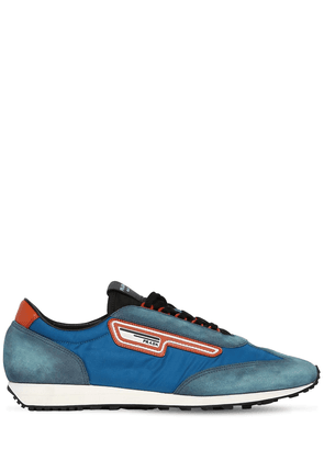 Milano 70 Nylon & Suede Running Sneakers