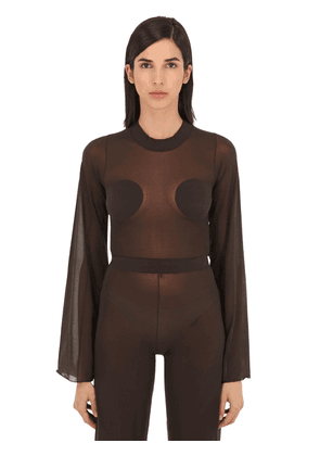 Gerbe Sheer Stretch Top