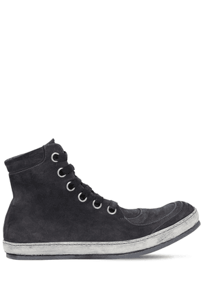 Handmade Leather Rev High Top Sneakers