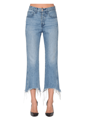 Shelter Crop Cotton Denim Jeans