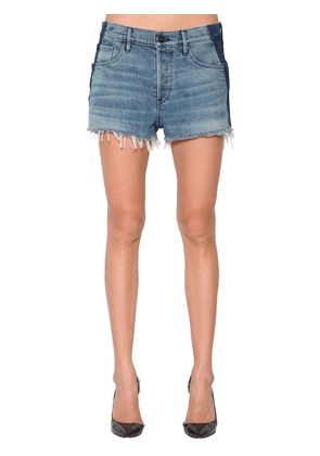 Mason Denim Shorts W/ Side Bands