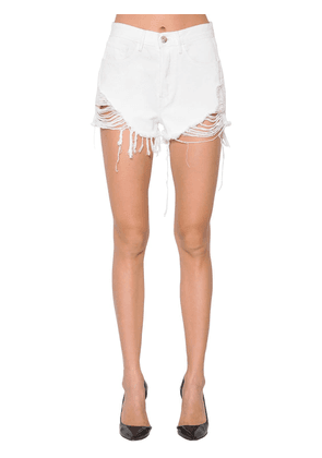 Carter Distressed Denim Shorts