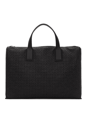 Loewe Black Goya Simple Briefcase