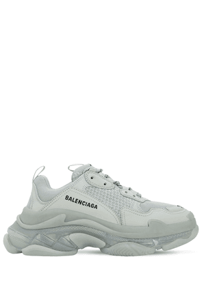 60mm Triple S Air Washed Leather Sneaker