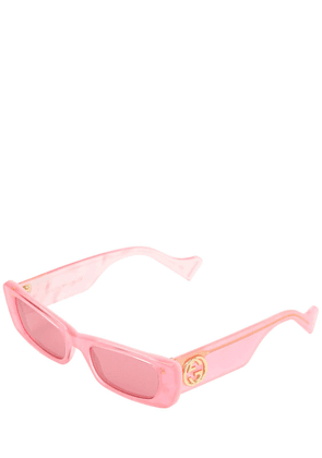 Fluo Square Acetate Sunglasses