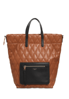 Small Duo Quilted Backpack