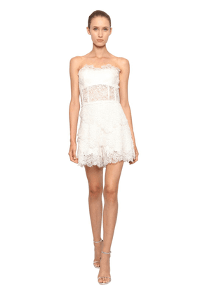 All Over Lace Romper