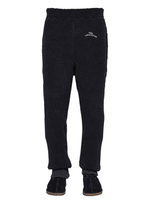 Embroidered Tech Terrycloth Sweatpants