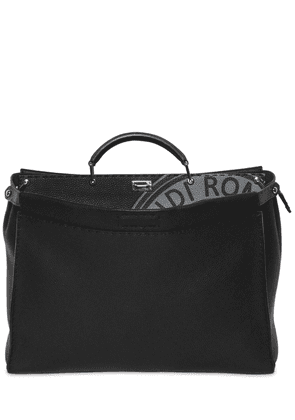 Medium Peekaboo Tumbled Leather Bag