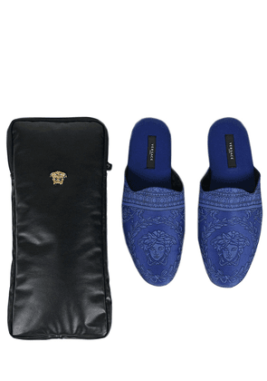 I Heart Baroque Luxe Slippers With Case