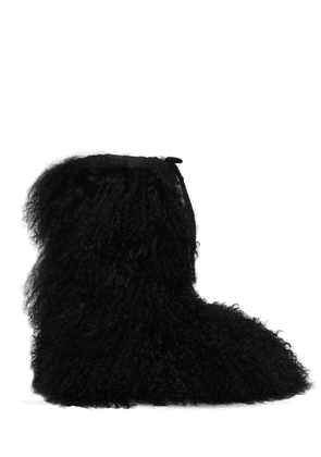 20mm Mongolian Fur Snow Boots