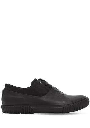 Galosh Graphic Foxing Sneakers