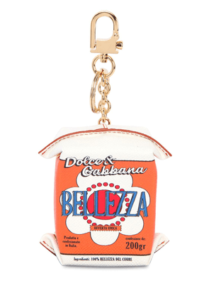 Bellezza Carton Leather Keychain