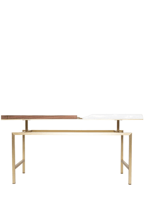 Snaer Porcelain & Walnut Coffee Table