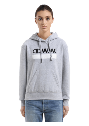 Wood Wood Hooded Cotton Terry Sweatshirt