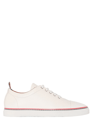 Pebbled Leather Sneakers
