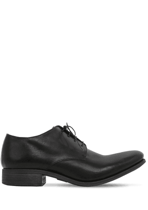 Horse Leather Lace-up Shoes