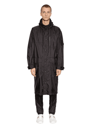 Greg Hooded Nylon Parka