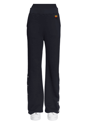 Logo Embroidered Cotton Sweatpants