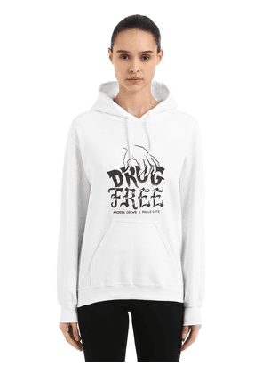 Pablo Cots Drug Free Hooded Sweatshirt