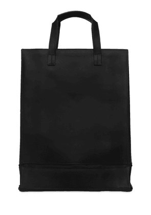 Folding Vegetable Tanned Leather Tote