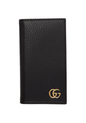 Gucci Black GG Marmont Wallet iPhone 8 Case