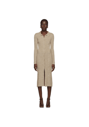Christopher Esber Beige Double Buttoned Cardigan