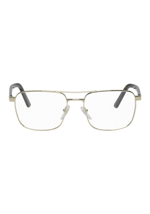 Prada Gold and Tortoiseshell Heritage Glasses