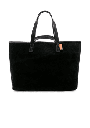 Hender Scheme Leather Tote in Black - Black. Size all.
