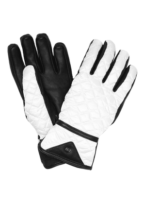 Cyra quilted ski gloves