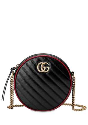 Circle Gg Marmont Torchon Leather Bag
