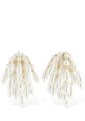 Artemisia Chandelier Clip-on Earrings