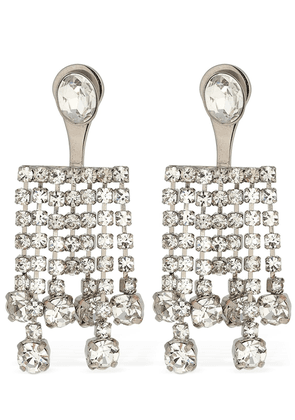 Clara Crystal Cascade Earrings