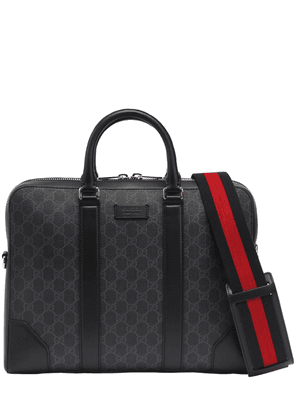 Slim Gg Supreme Logo Briefcase