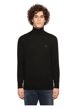 Classic Merino Wool Knit Sweater
