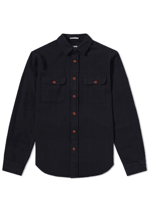 GANT Rugger Overdyed Flannel Check Shirt