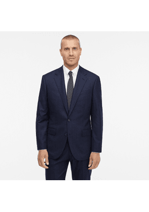 Ludlow Classic-fit suit jacket in Italian heathered wool flannel