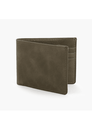 Billfold wallet with lining