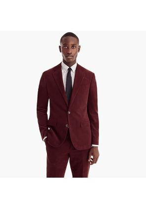 Ludlow Classic-fit suit jacket in Italian corduroy