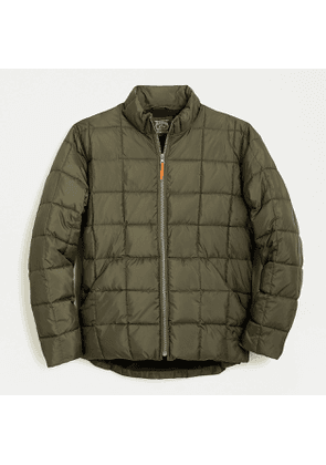 Box quilted jacket with eco-friendly PrimaLoft®