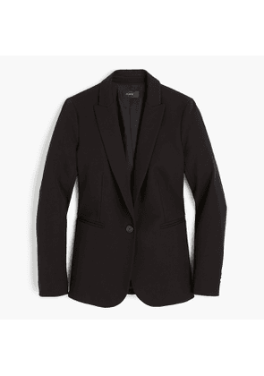 Tall Parke blazer in bi-stretch cotton