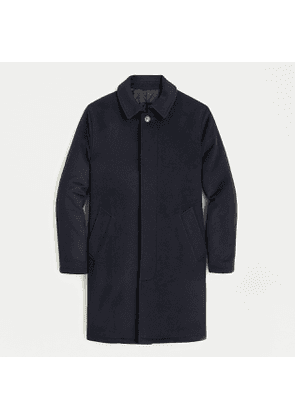 Ludlow car coat in wool-cashmere
