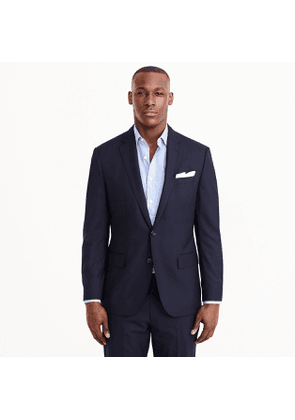 Ludlow Classic-fit suit jacket with center vent in Italian wool