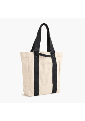 Rugged canvas tote bag