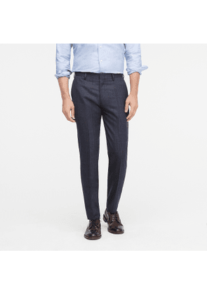 Ludlow Classic-fit suit pant in English mini-herringbone wool