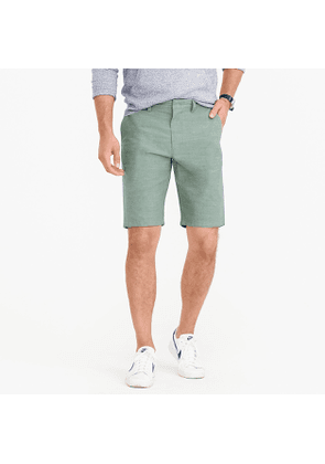 10.5' short in rugby green chambray