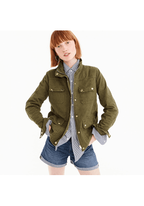 Uncoated downtown field jacket
