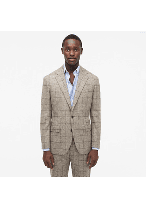 Ludlow Classic-fit suit jacket in Scottish windowpane wool