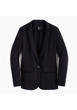 Tall single-button blazer in eco ponte